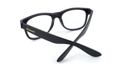 Rx Fort Knocks with Matte Black Frames and Prescriptions Lenses, Back