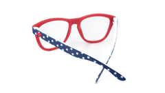 Rx Premiums with American Flag Colored Frame and Prescriptions Lenses, Back