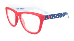 Rx Premiums with American Flag Colored Frame and Prescriptions Lenses, Flyover