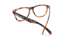 Knockaround Rx Classics with Glossy Tortoise Shell Frames and Prescriptions Lenses, Back