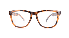 Knockaround Rx Classics with Glossy Tortoise Shell Frames and Prescriptions Lenses, Front