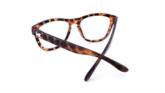 Rx Premiums with Glossy Brown Tortoise Shell Frames and Prescriptions Lenses, Back