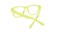 Rx Premiums with Yellow Frames and Prescriptions Lenses, Back