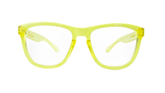 Rx Premiums with Yellow Frames and Prescriptions Lenses, Front