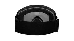 Snow Goggles with Black Frame and Smoke Lens, Back