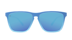 Sunglasses with Coastal Frames and Polarized Aqua Lenses, Front