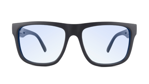 Matte Black on Black / Blue Light Blockers Torrey Pines