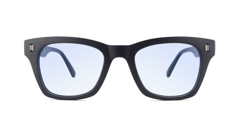 Matte Black on Black / Blue Light Blockers Seventy Nines