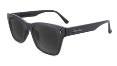 Sunglasses with Matte Black on Black Frames and Polarized Smoke Lenses, Flyover