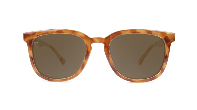acaf67217a73 ... Sunglasses with Blonde Tortoise Frames and Polarized Amber Lenses