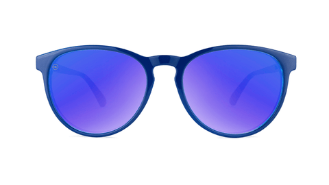 Sunglasses with Blueberry Geode Frames and Polarized Moonshine Lenses, Back