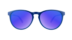 Sunglasses with Blueberry Geode Frames and Polarized Moonshine Lenses, Front