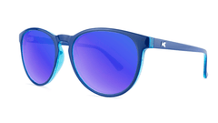 Sunglasses with Blueberry Geode Frames and Polarized Moonshine Lenses, Threequarter