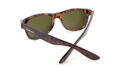 Fort Knocks Sunglasses with Tortoise Shell Frames and Brown Amber Lenses, Back