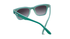 Sunglasses with Calypso Dunes Frames and Polarized Smoke Gradient Lenses, Back