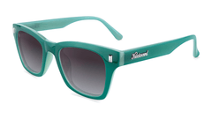 Sunglasses with Calypso Dunes Frames and Polarized Smoke Gradient Lenses, Flyover