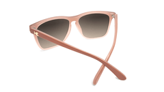 Sunglasses with Daytona Tan Frame and Polarized Amber Gradient Lenses, Back