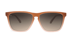 Sunglasses with Daytona Tan Frame and Polarized Amber Gradient Lenses, Front