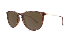 Glossy Blonde Tortoise Shell / Amber Mary Janes