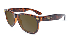 Fort Knocks Sunglasses with Tortoise Shell Frames and Brown Amber Lenses, Flyover