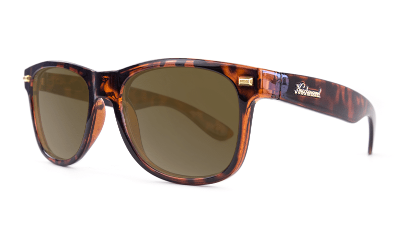 aacc5178e7d05 ... Fort Knocks Sunglasses with Tortoise Shell Frames and Brown Amber  Lenses