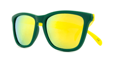 Knockaround Sunglasses Green and Yellow / Yellow Classics Front