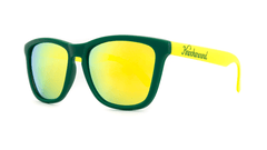 Knockaround Sunglasses Green and Yellow / Yellow Classics Threequarter