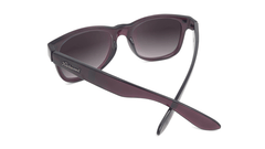 Sunglasses with Imperial Frames and Polarized Smoke Gradient Lenses, Back
