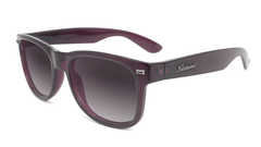 Sunglasses with Imperial Frames and Polarized Smoke Gradient Lenses, Flyover