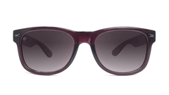 Sunglasses with Imperial Frames and Polarized Smoke Gradient Lenses, Front