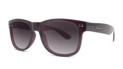 Sunglasses with Imperial Frames and Polarized Smoke Gradient Lenses, Threequarter