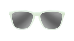 Sunglasses with Glow In The Dark Frame and Silver Smoke Lenses, Front