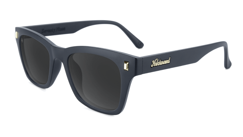 72d69b4462a82 Sunglasses with Matte Black Frames and Polarized Smoke Lenses