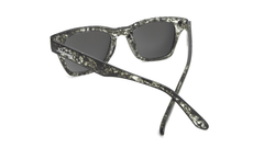 Sunglasses with Midnight Ink Frames and Polarized Silver Smoke Lenses, Back