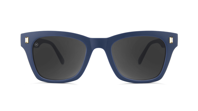 ad66750b45 ... Flyover  Sunglasses with Navy Blue Frames and Polarized Smoke Lenses