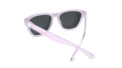 Sunglasses with Park Ave Frames and Polarized Rose Lenses, Back