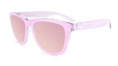 Sunglasses with Park Ave Frames and Polarized Rose Lenses, Flyover