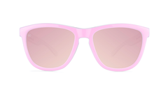 Sunglasses with Park Ave Frames and Polarized Rose Lenses, Front