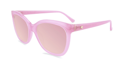 Sunglasses with Pink Lemonade Frames and Polarized Pink Lenses, Flyover