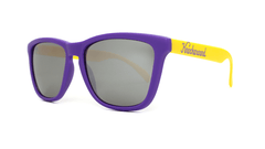 Knockaround Sunglasses Purple and Yellow / Smoke Classics Threequarter