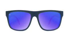 Sunglasses with Star Spangled frames and Polarized Blue Moonshine Lenses, Front
