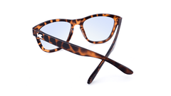 Sunglasses with Tortoise Shell Frame and Blue Light Blocker Lenses, Back