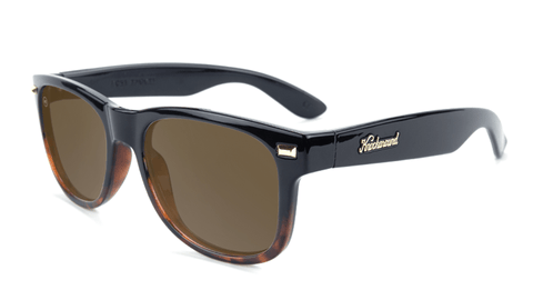 2cf73b13c06 Sunglasses with Black and Tortoise Shell Fade Frames