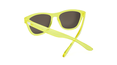 Premiums Sunglasses with Yellow Frames and Yellow Mirrored Lenses, Back