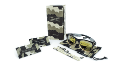 Knockaround Benny Gold Fog Camo Sunglasses, Set