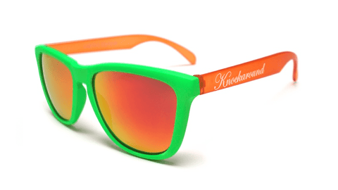 Knockaround Bird of Paradise Sunglasses, Flyover