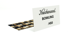 Knockaround Bowling Sunglasses, Insert Card