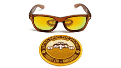 Knockaround Bring Back the Brown Sunglasses, Front