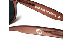 Knockaround Bring Back the Brown Sunglasses, Arms