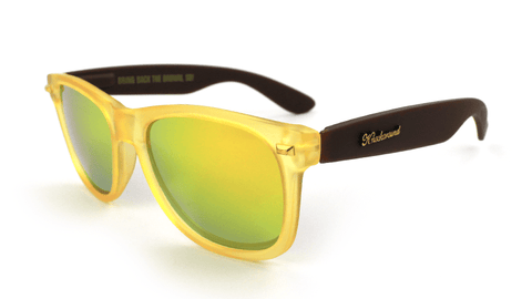 Knockaround Bring Back the Brown II Sunglasses, Flyover